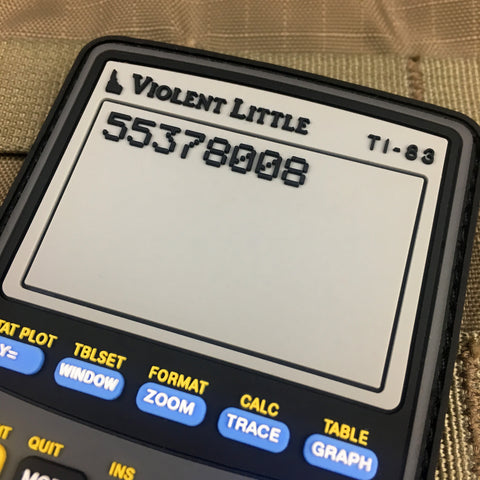 Violent Little TI-83 Morale Patch