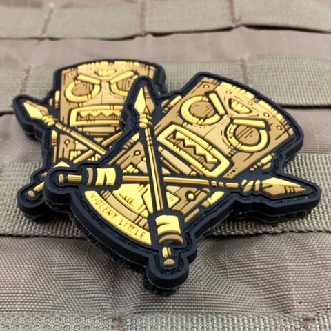 Violent Little War Tiki Morale Patch