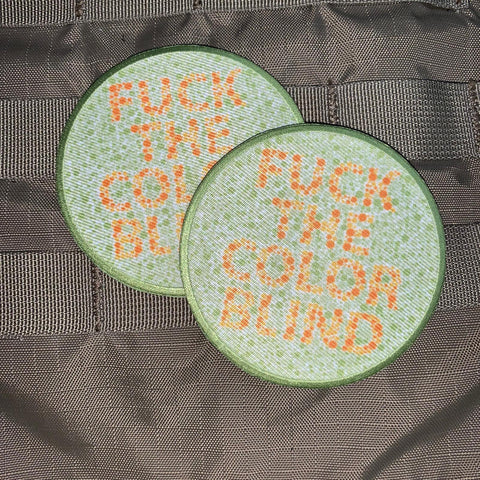 """Fuck the Color Blind"" Morale Patch"