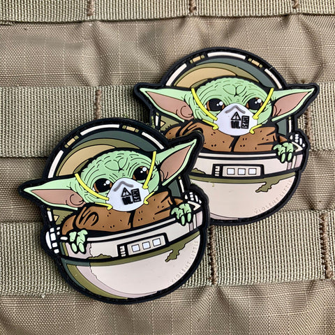 "COVID ""Baby Yoda"" Morale Patch"