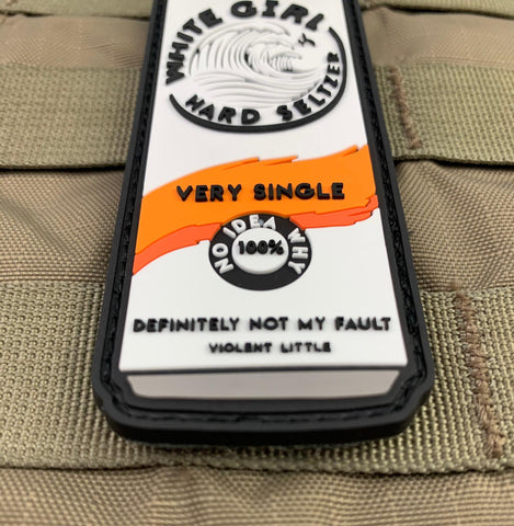 """Very Single"" White Girl Hard Seltzer Morale Patch"