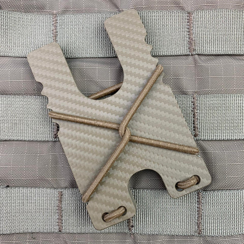 Kydex Shock Wallet - FDE Carbon Fiber