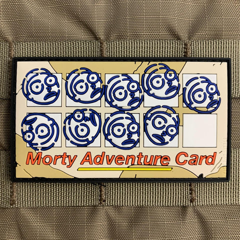 """Rick & Morty Adventure Card"" Morale Patch"