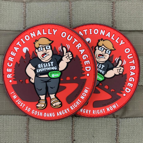 """Recreationally Outraged"" Patch"