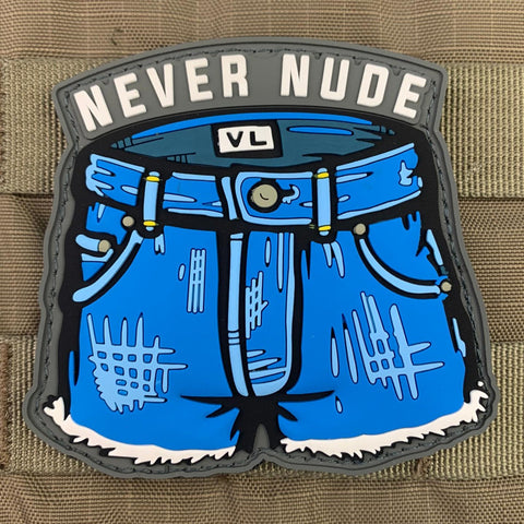 """Never Nude"" Arrested Development Patch"