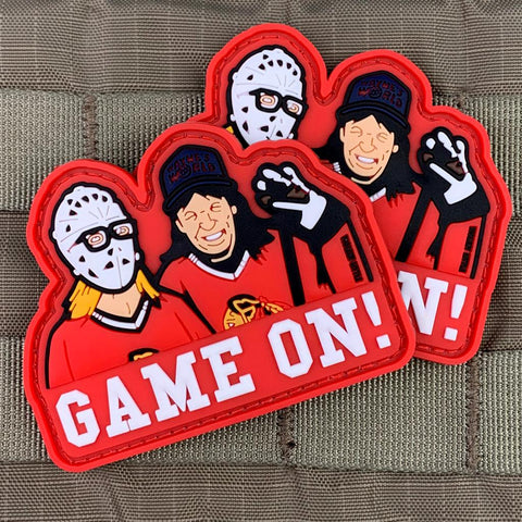 """Game On!"" Wayne's World PVC Patch"