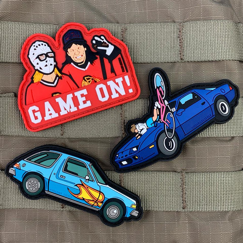 """MirthMobile"" Wayne's World PVC Patch"