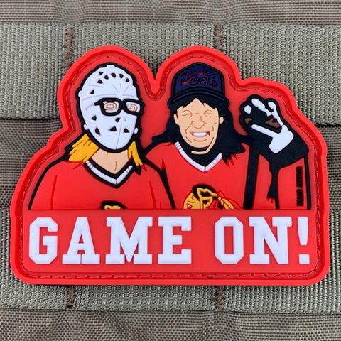 """Game On!"" PVC Patch"
