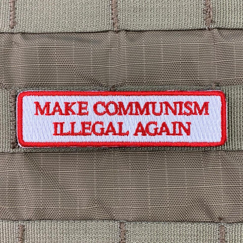 Make Communism Illegal Again Morale Patch