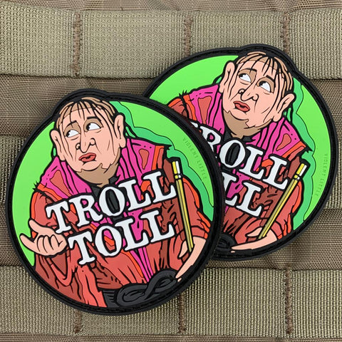 """Troll Toll"" Always Sunny Patch"