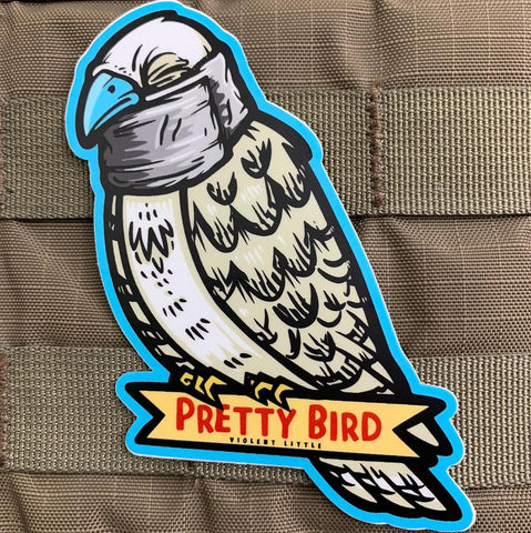 """Pretty Bird Petey"" Sticker"
