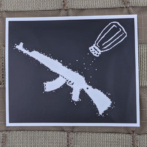 """A Salt Rifle"" Sticker"