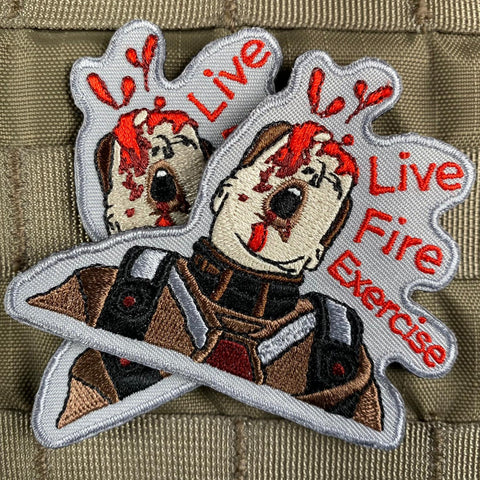 """Live Fire Exercise"" Starship Troopers Patch"