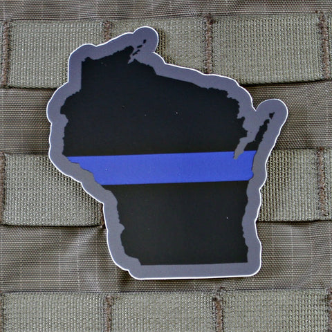 """Every State In Thin Blue Line"" Sticker Series"
