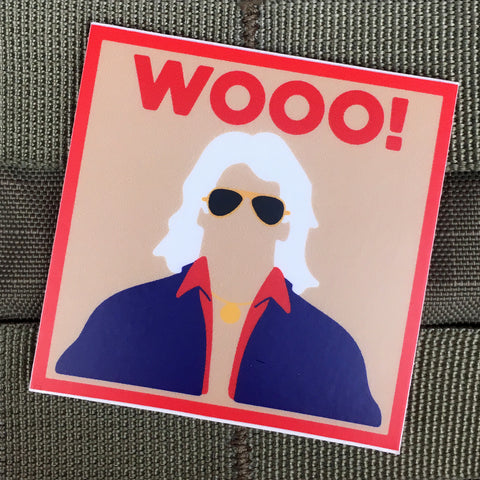 "Ric Flair ""WOOO!"" Sticker"