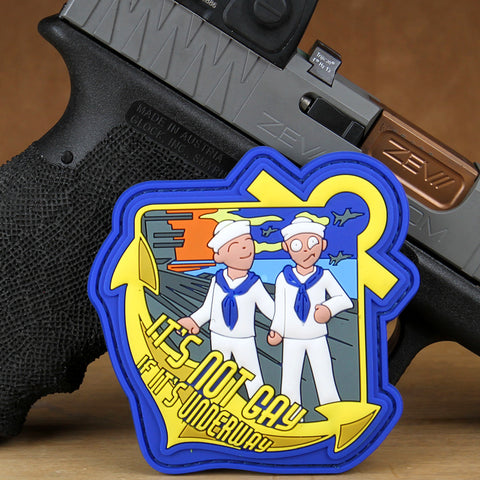 """It's Not Gay If It's Underway"" Morale Patch"