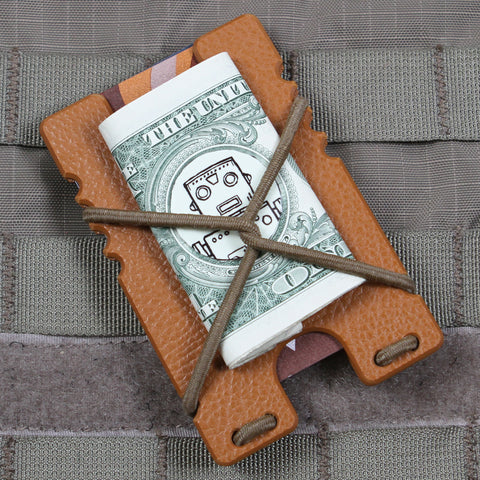 Kydex Shock Wallet -London Tan