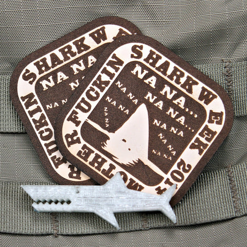 Na Na Shark Week Morale Patch
