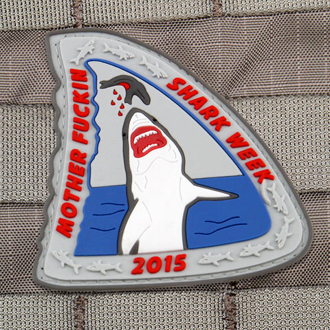 Motherfuckin Shark Week 2015 Morale Patch