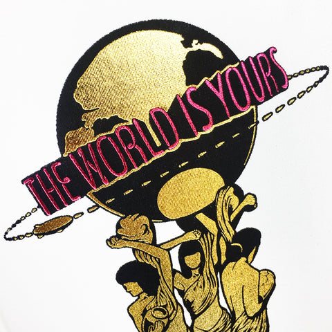 """The World Is Yours"" Notebook"