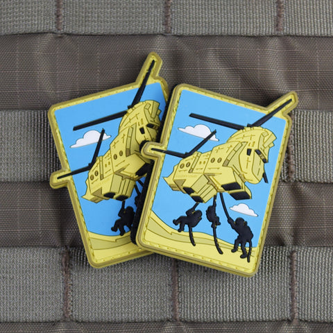 Chinook Trojan Horse Morale Patch
