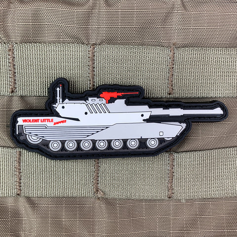Violent Little Zapper M1 Abrams Tank Morale Patch