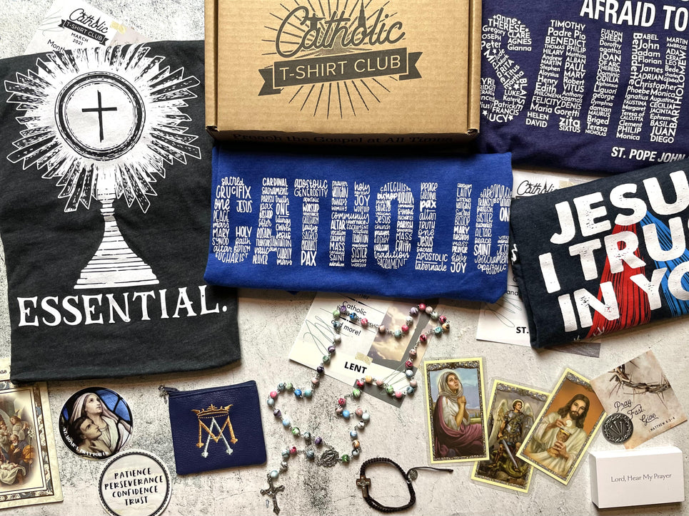 Catholic T-Shirt Club - VIP Subscription