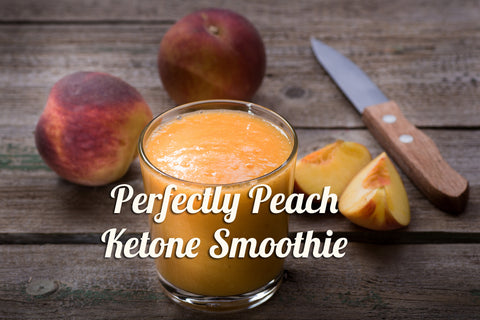 Perfectly Peach Ketone Smoothie - SuperEleven com