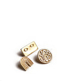 YES PIN // BRASS