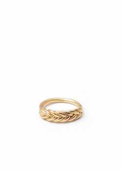 Five Strand Braided Ring