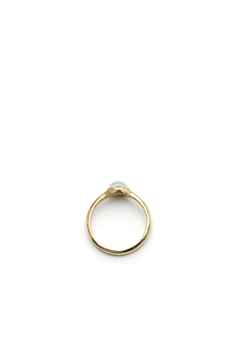 Aquamarine Ring // 14k Gold
