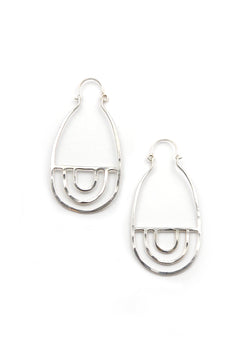 Arcos Earrings // Silver