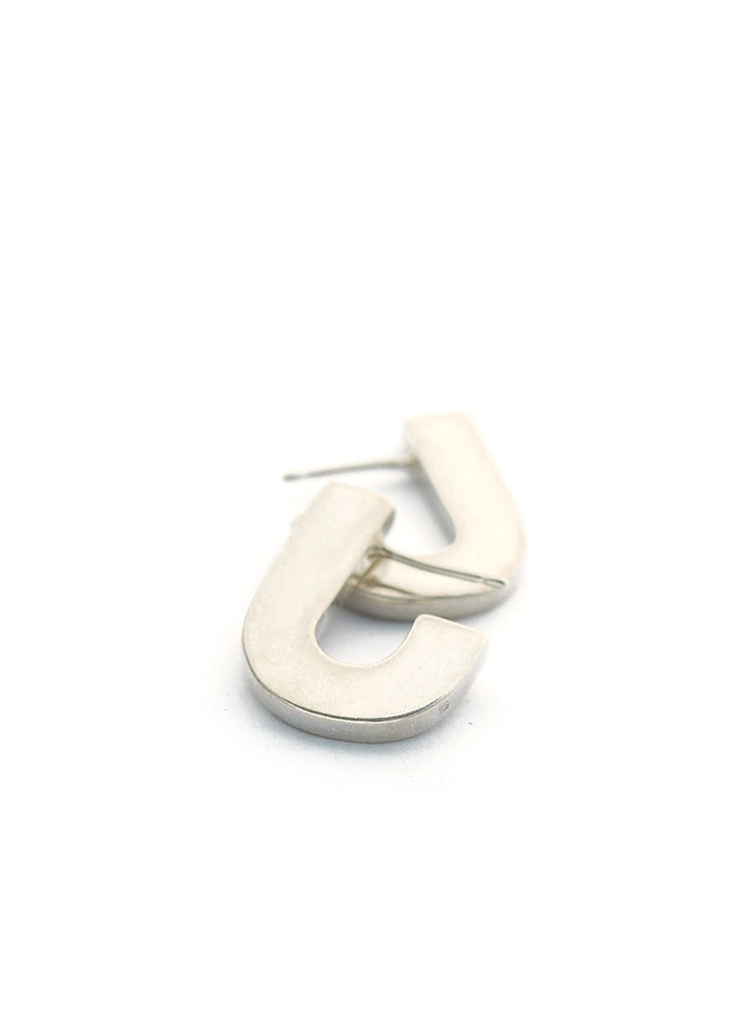 Juxta Earrings // Silver