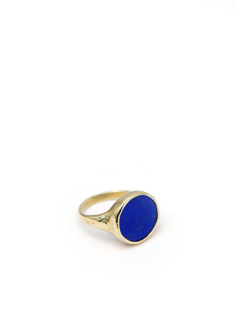 Lacuna Ring // Brass