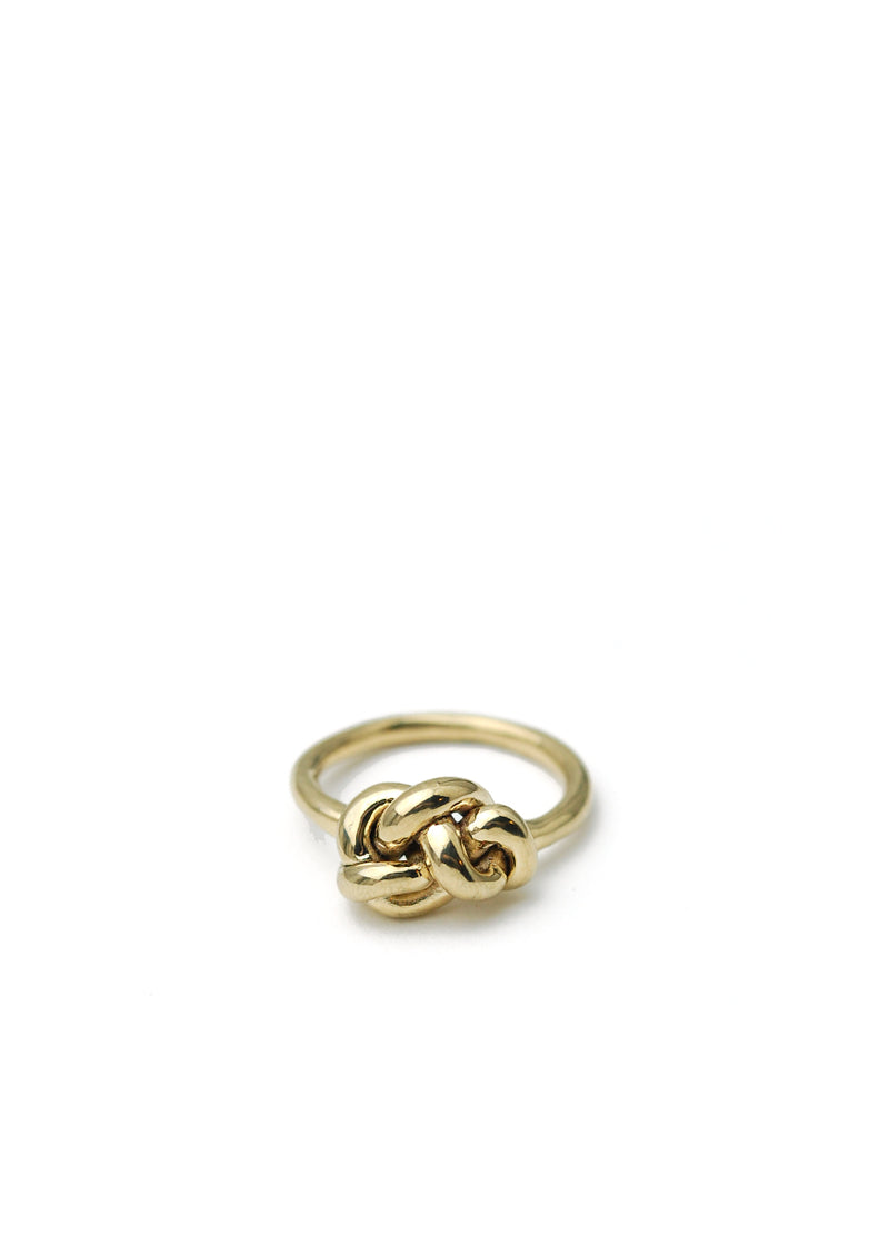 Large Knot Ring // 14k Gold
