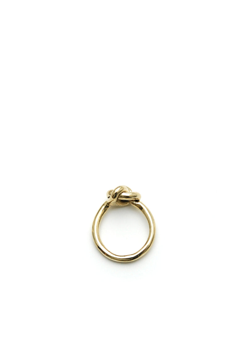 Small Knot Ring // 14k gold