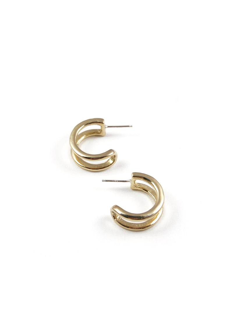 Tiny Gemini Earrings