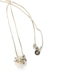 Flor Necklace // Silver