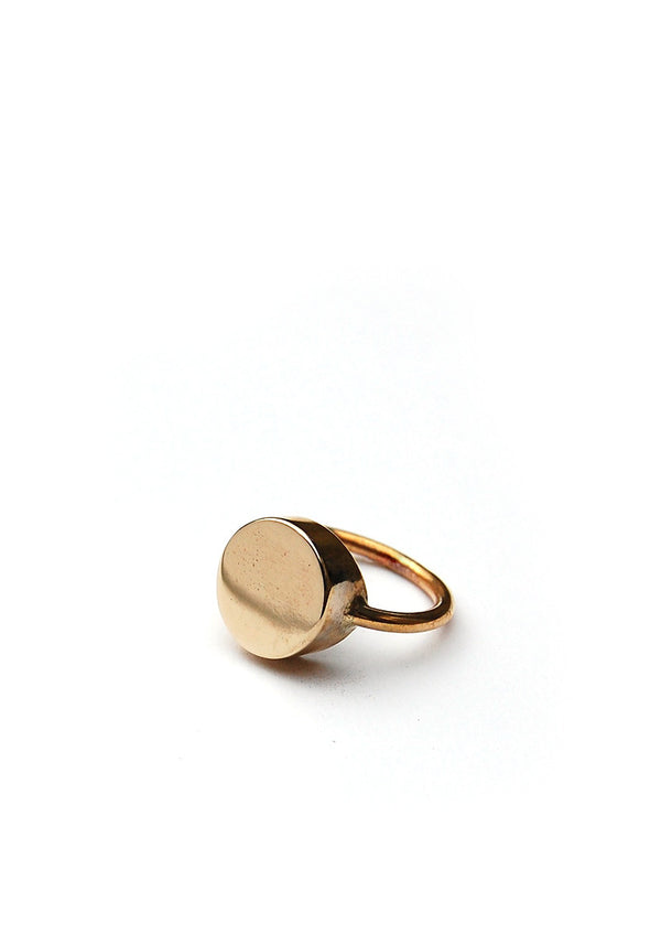 Gemma Ring // Brass