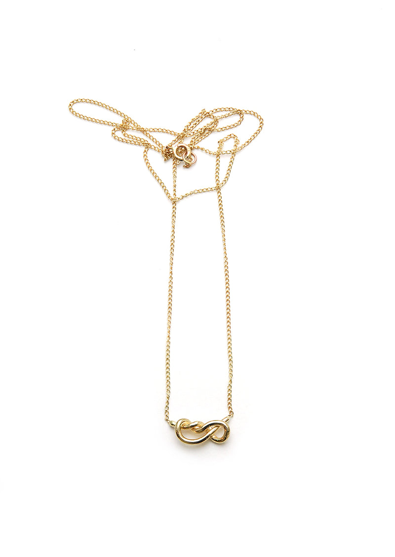 Knot No. 2 // 14k Gold