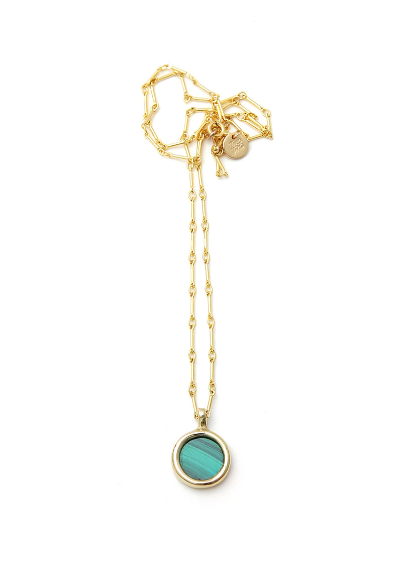 Mare Necklace // Brass + Gold Filled