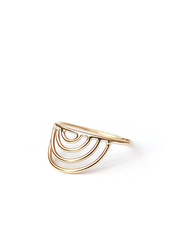 Mini Porta Ring // 14k Gold