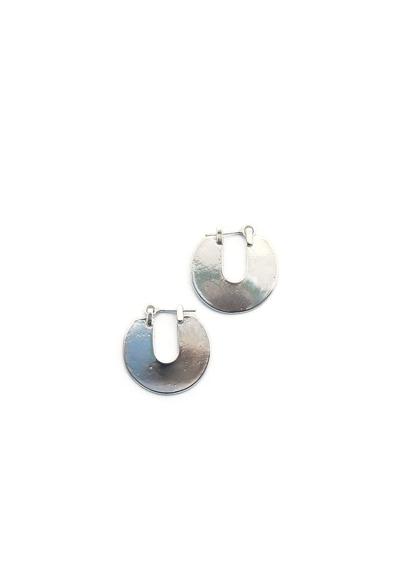 Orbis Earrings // Silver