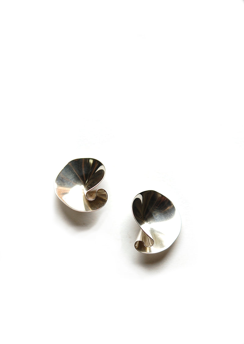 Selo Earrings // Silver