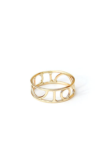 Aureus Ring // 14k Gold