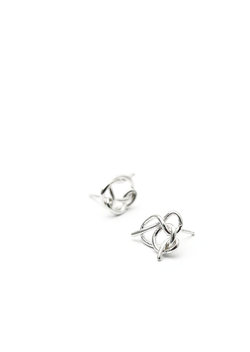 Knot Studs // Sterling Silver // No. 2