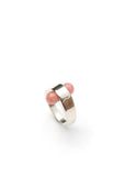 Foro Ring Redux // Silver, Rose Quartz
