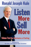 Two-Volume Set of LISTEN MORE SELL MORE Sales Books Volumes 1 & 2