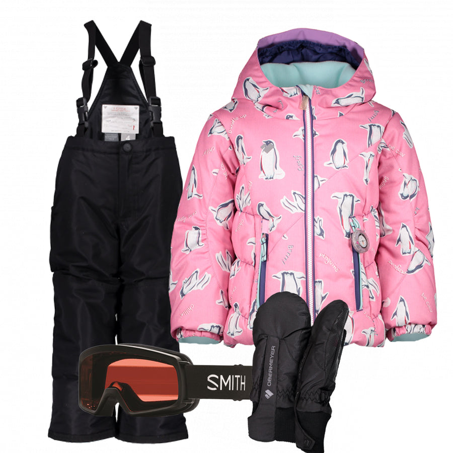 Children's Ski Gear Outfit (Penguin/Black)