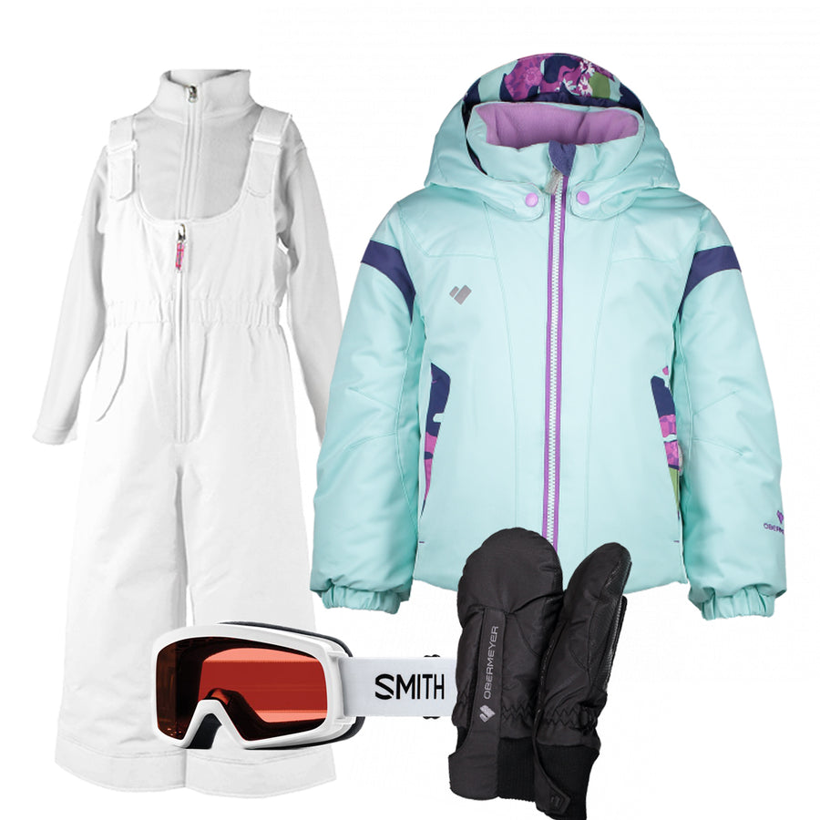 Children's Ski Gear Outfit (Frosty/White- Premium)